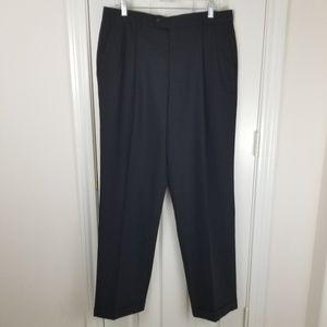 Linea Naturale Luxe Dress Pants Sz 35 x 33 Black